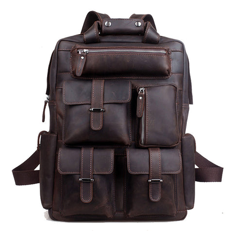 Amazing Leather Backpack