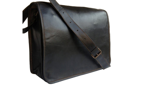 Black Leather Mens Bags