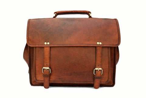 Full Grain Leather laptop Bag