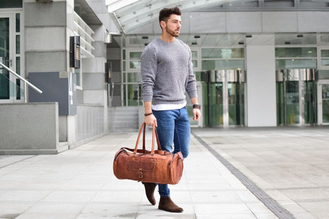 Leather Duffel For Men