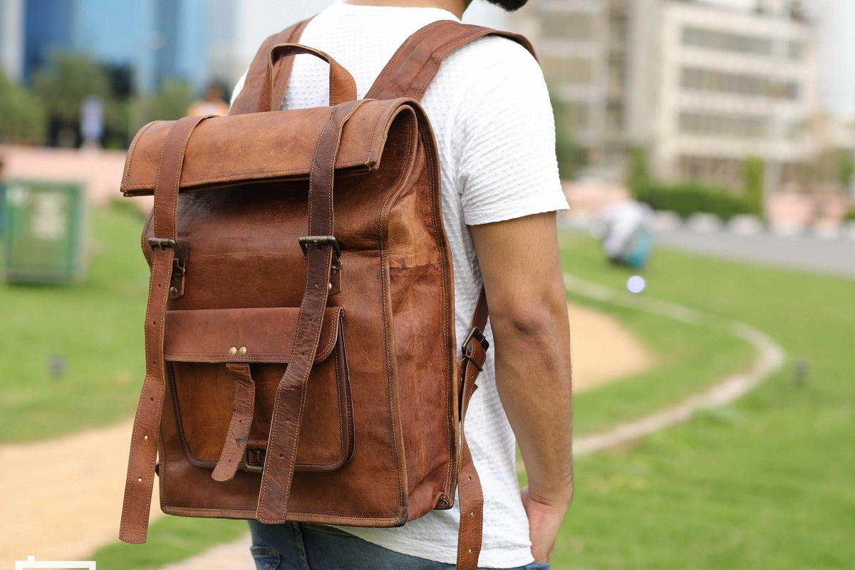 Best Leather Bagpack | High On Leather