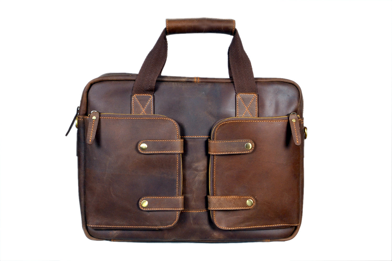 b04671e239a9 Buy Buffalo Leather Briefcase   High On Leather