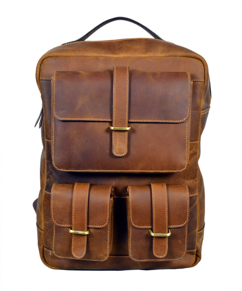 41e1548870 Small Brown Leather Bags Quick View. Brown Leather Backpack ...