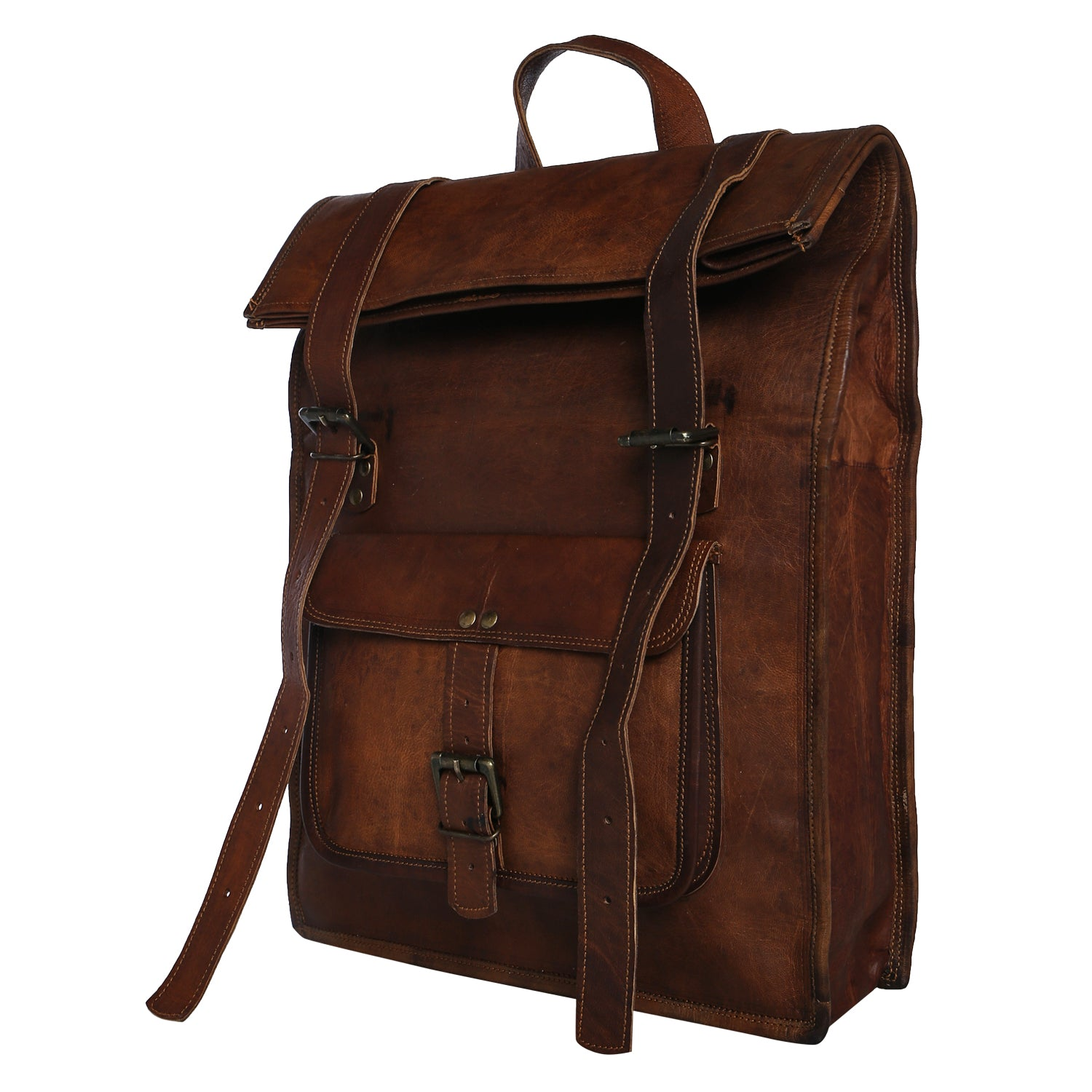 9ff99c6c2f6 Distressed Leather Womens Backpack Purse – Patmo Technologies Limited