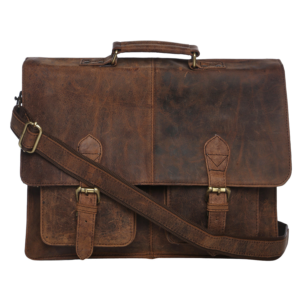 Leather Briefcase for Men