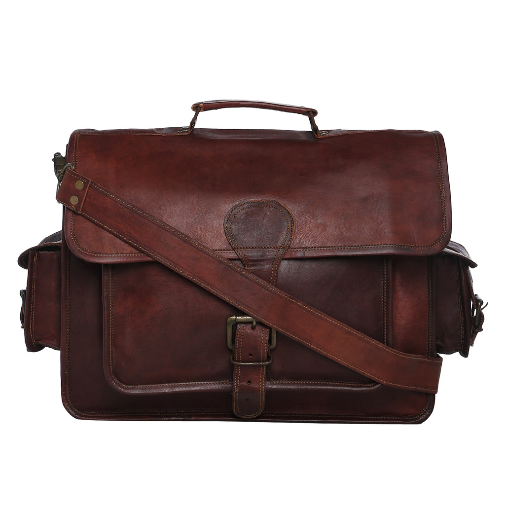 LEATHER LAWYERS BRIEFCASE