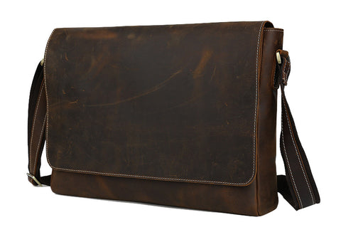 Best Full Grain Leather Messenger
