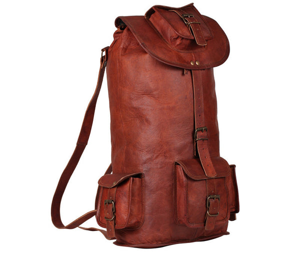 Large Mens Leather Rucksack 23 Quot High On Leather