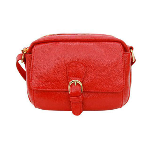 7305f1715 Red Leather Crossbody Messenger | High On Leather