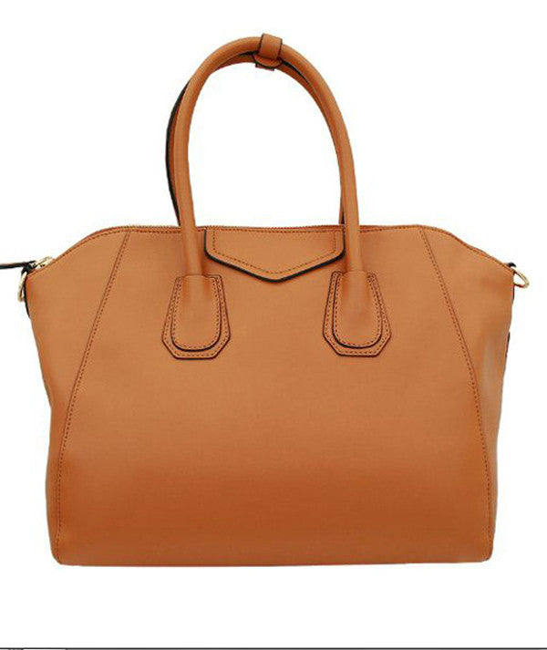 Brown Leather Designer Handbags  bee4403cad75e