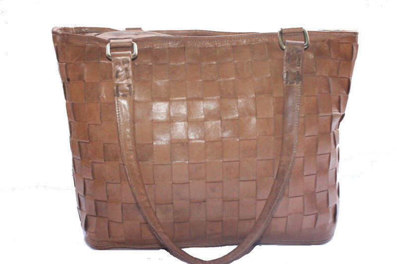 f32ac73d063c brown leather tote bag ...
