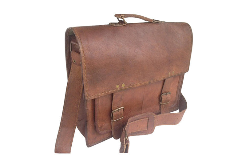 19bf500fdc9d Distressed Leather Satchel 16