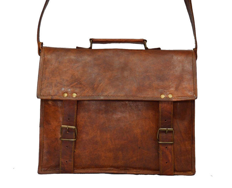 ... Indiana Jones Leather Satchel 13