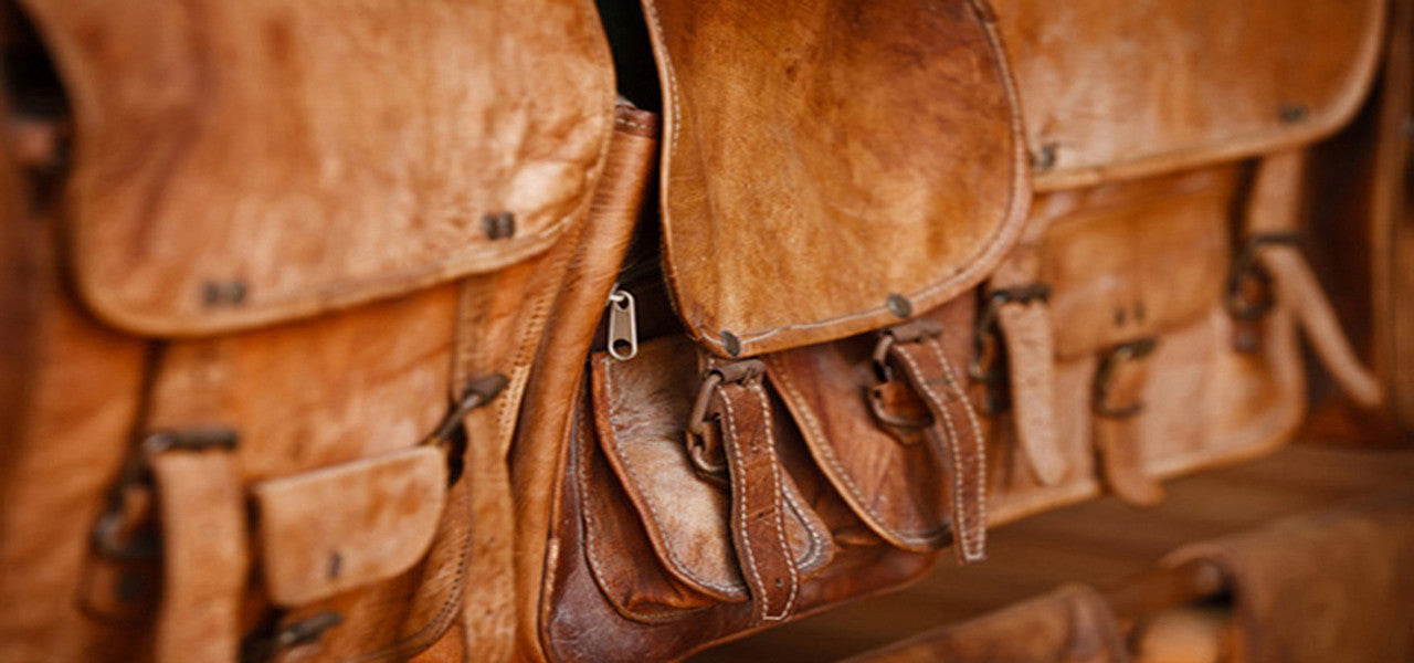 Genuine Leather Messenger