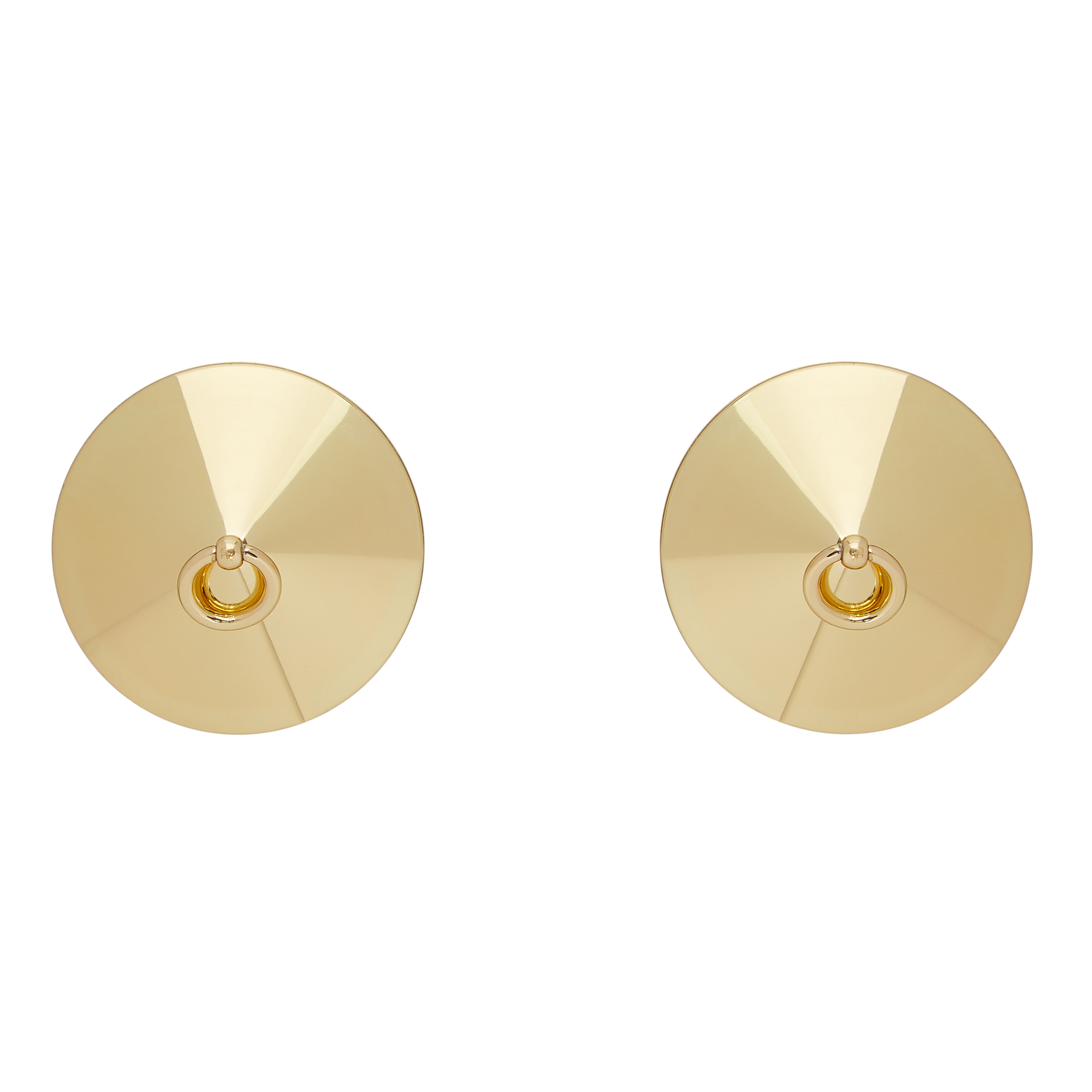 Bordelle 24K Gold plated O ring nipplets