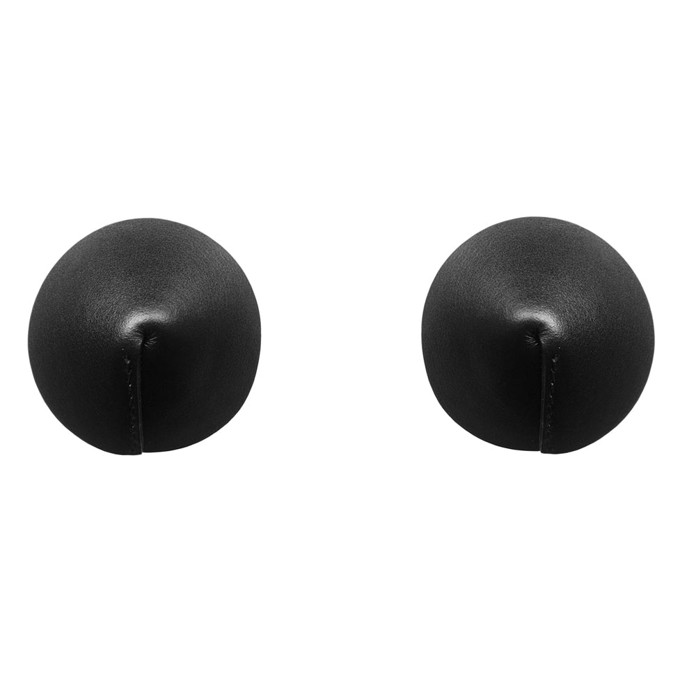 Bordelle Matte leather nipplets