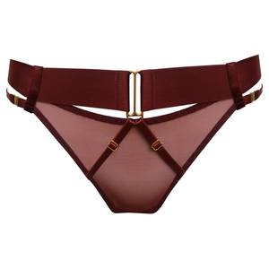 Bordelle Merida Brief - burgundy