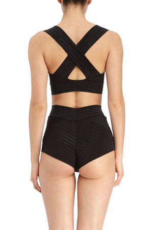 DSTM Chevron brief and Chevron bra - back