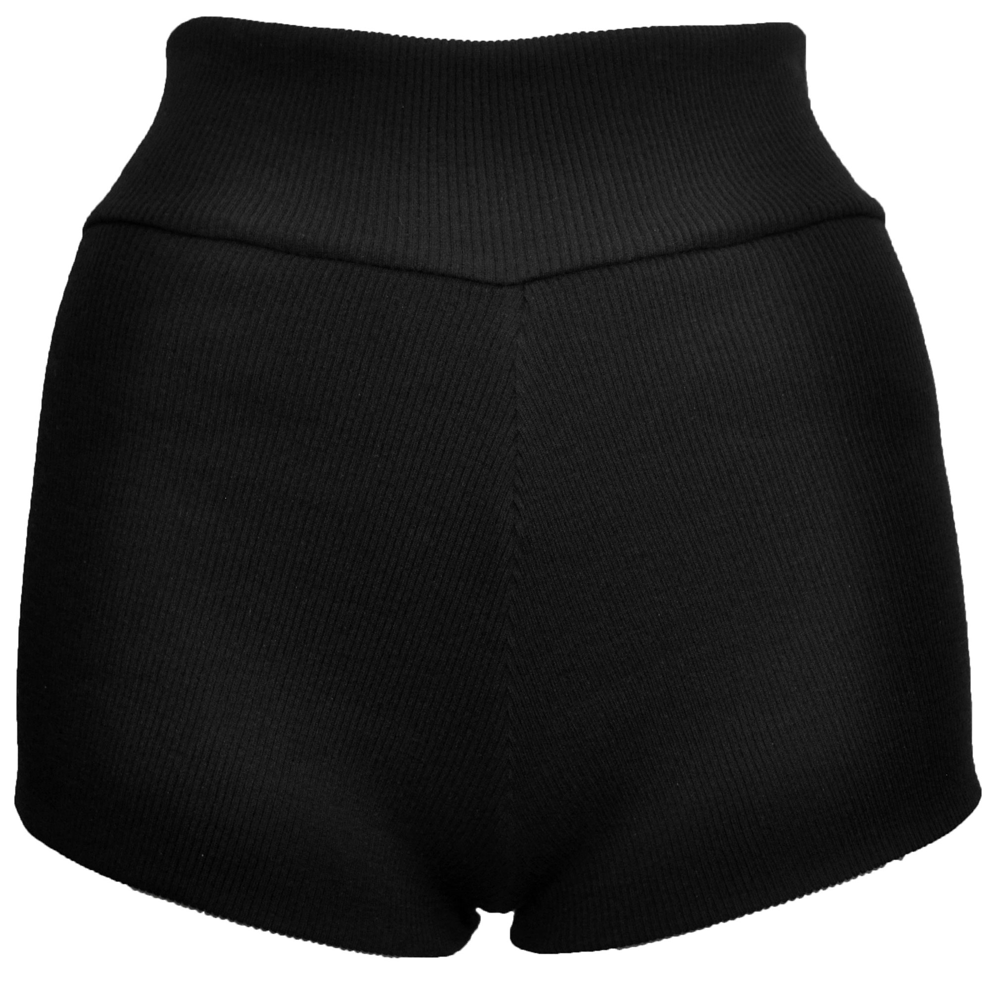 Chiron ribbed mini shorts by DSTM