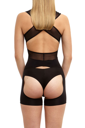 DSTM Jung suspender tank and simple thong - back