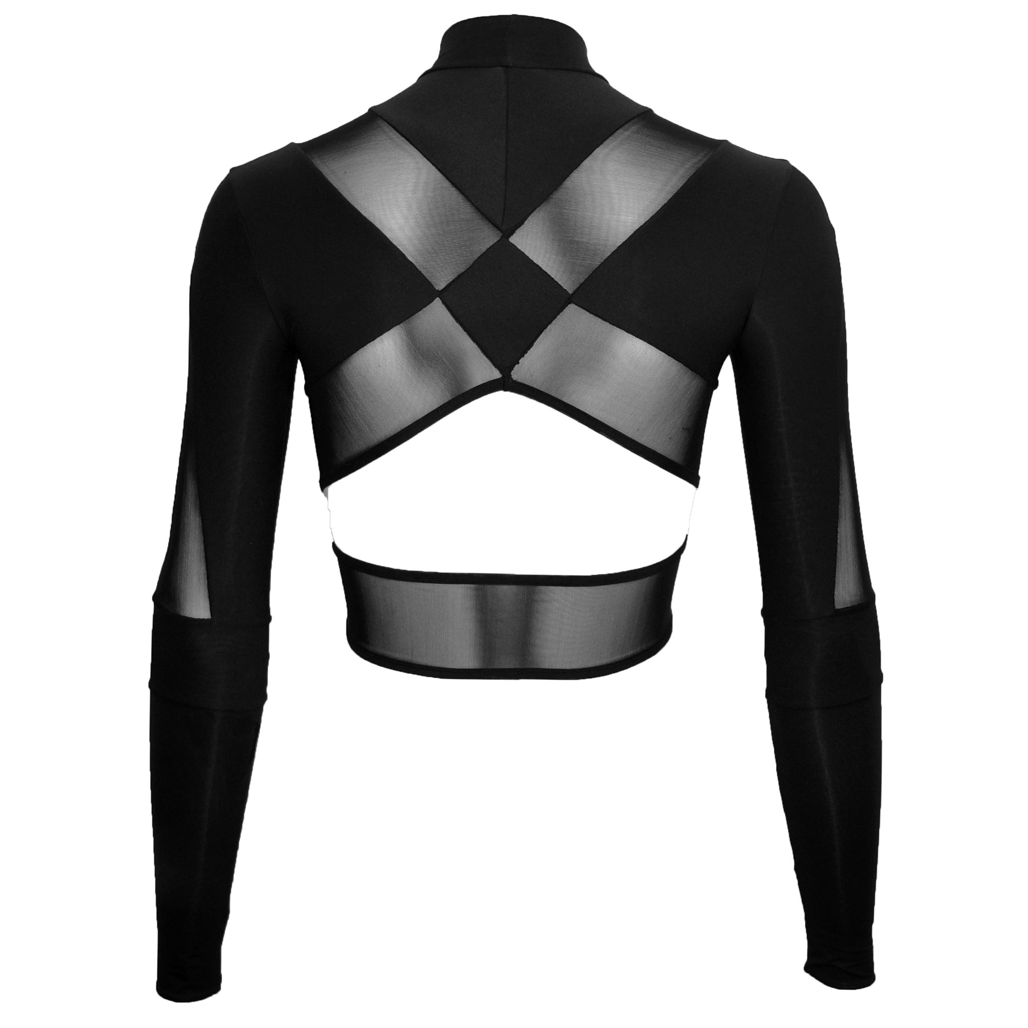 DSTM Jung long sleeve crop top