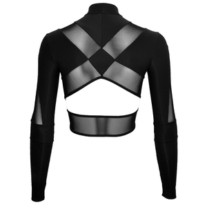 DSTM Jung long sleeve crop top - back