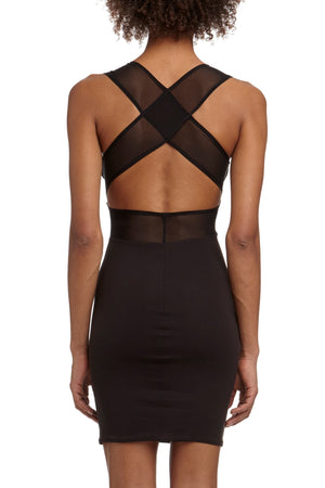 DSTM Jung slip dress - back