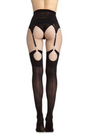 Don't Shoot the Messengers Mantis ring stockings - back