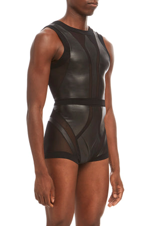 DSTM Phoenix mens top and Phoenix brief - side