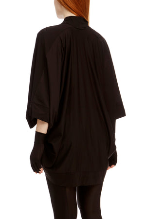 DSTM Sever kimono robe and Sever leggings in black - side back