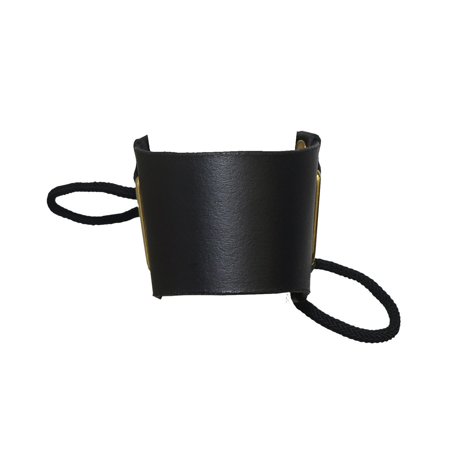 Siren leather cuff by DSTM