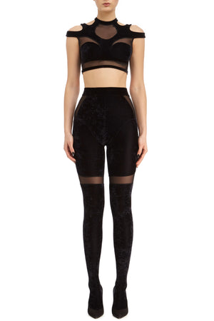 DSTM Solta tights and Solta crop top