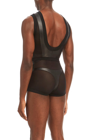 DSTM Phoenix mens top and Phoenix brief - side back