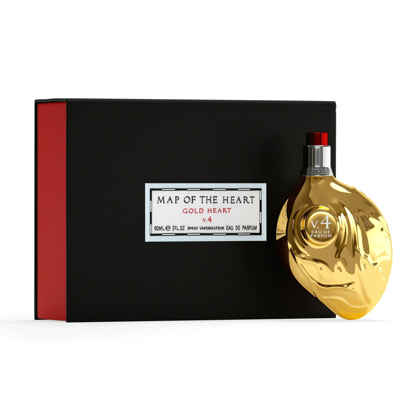 Map of the Heart Gold heart perfume V.4