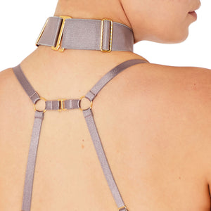 Bordelle Rey collar - choker tundra back