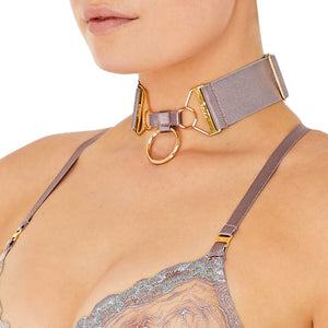 Bordelle Rey collar - choker tundra side