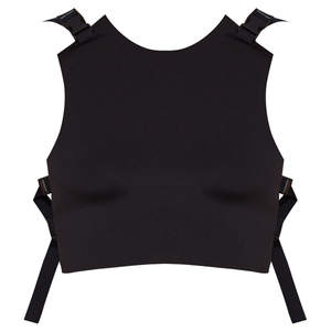 Ruban Noir Tu me manques top - black