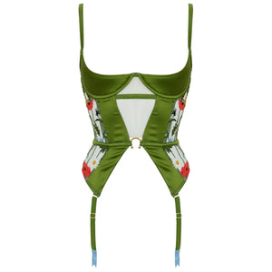 Cerelia harness quarter cup basque by Studio Pia suspender