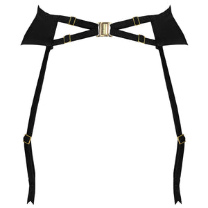 Studio Pia Clea harness suspender with collar and leg straps detached - back