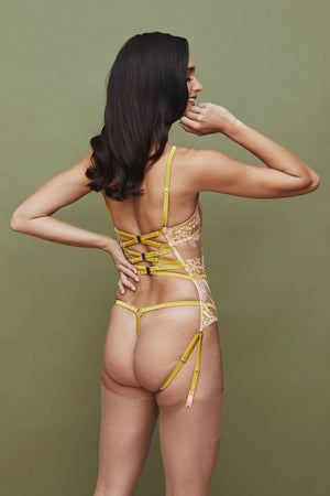 Naida strap thong by Studio Pia