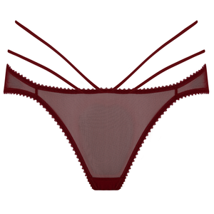 Myth ouvert brief by Tisja Damen - bordeaux