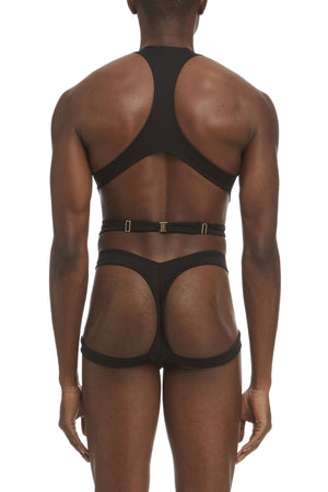 DSTM Maya mens harness and Maya brief - back