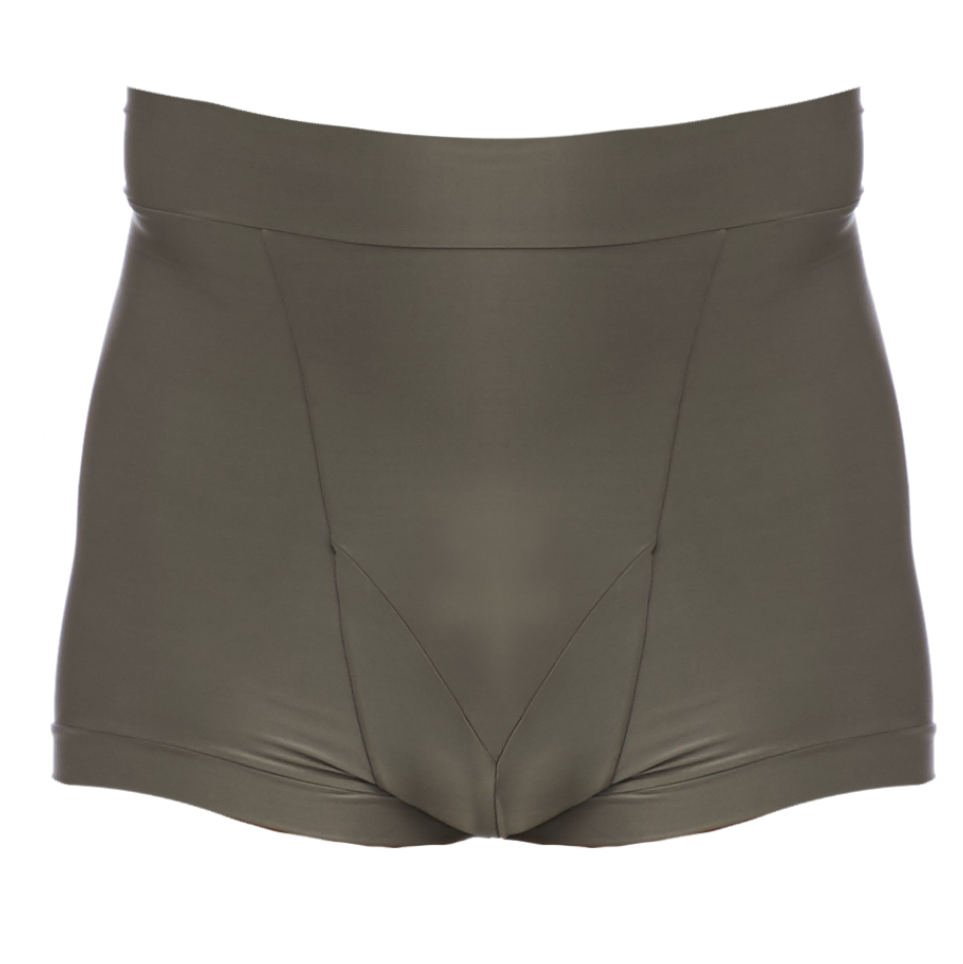 DSTM Sever high waist mens brief in silver