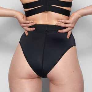 la fille d'O Adore high waist bikini/brief - back
