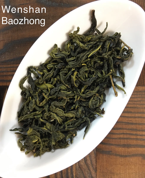 Wenshan Baozhong Taiwanese Pou Chong Oolong Tea + Sijichun (Four Seasons Spring) Oolong Tea Loose Leaves