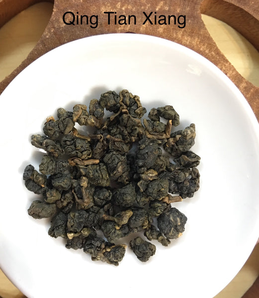 Qing Tian Xiang Taiwan Medium Dong Ding Oolong Tea + Four Seasons Spring (Sijichun) Oolong Tea Loose Leaves