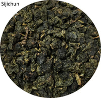 Alishan Jinxuan Oolong Tea + Sijichun Four Seasons Spring Oolong Tea Loose Leaves