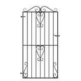 Wrought Iron Side Gates - The Ashford