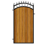 Side Gates - Bath design