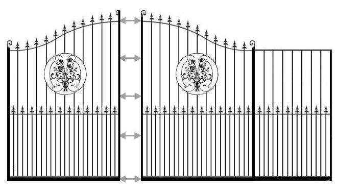 example of buckinghamshire sliding gate